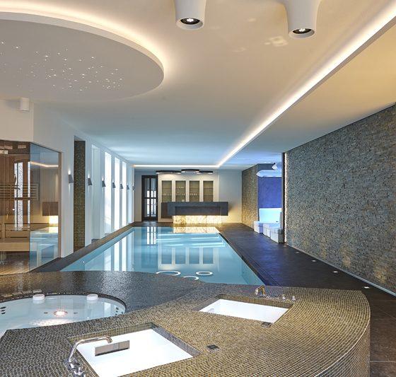 Villa met luxe wellness